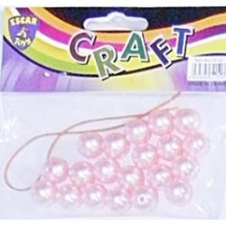Accesorii craft -  Margele Perle roz