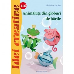 Animalute din globuri de hartie - Idei creative 116
