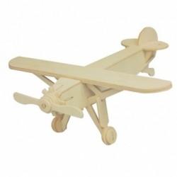 Puzzle 3D din lemn - avion