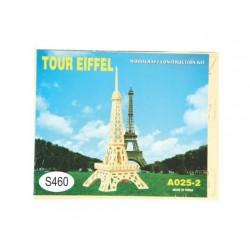 Puzzle 3D din lemn - Turnul Eiffel