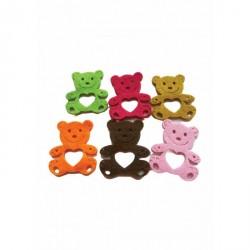 Forme decorative Ursuleti Fetru 6 culori