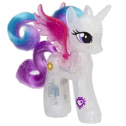 Figurina My Little Pony Equestria Girls - Printesa Celestia Lumineaza