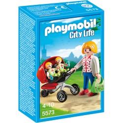 Carucior cu gemeni Playmobil PM5573