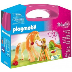 Set Portabil Playmobil Printesa Si Calut PM5656