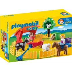 Playmobil 1.2.3 Animale La Zoo PM6963