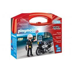Set Portabil Playmobil - Politie PM5648