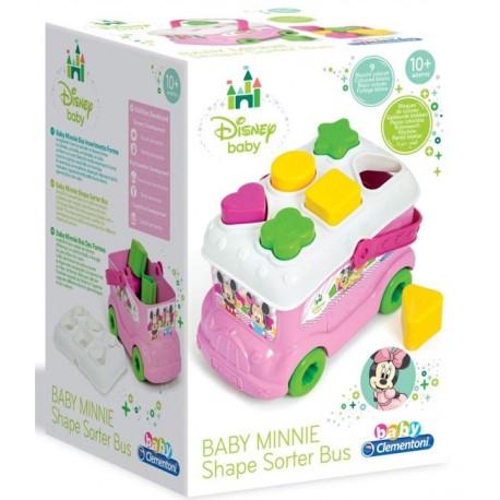 Autobuz De Sortat Forme Minnie Mouse, Clementoni