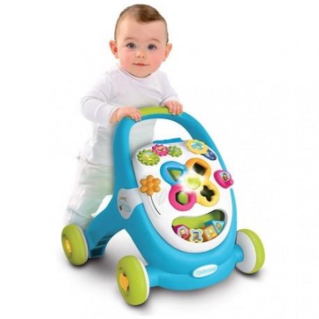 Smoby Cotoons antepremergator si centru de activitati bebe Walk&Play
