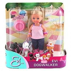 Papusa Evi Love cu 3 catelusi Simba Toys