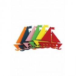Set 6 decoratiuni fetru vaporas