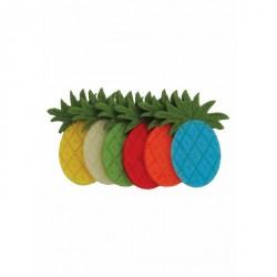 Ananas - Forme decorative fetru 6 culori