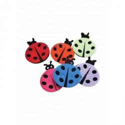 Forme decorative Buburuze Fetru 5 culori