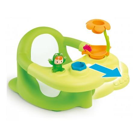 Scaun baie verde pentru bebelusi Smoby Cotoons  6 M +