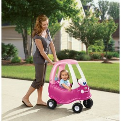 Masinuta Roz Cozy Coupe Little Tikes