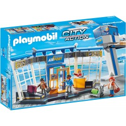 Aeroport Cu Turn De Control Playmobil PM5338