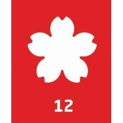 Perforator Hobby 7,6 cm Daco - floare PF076/12