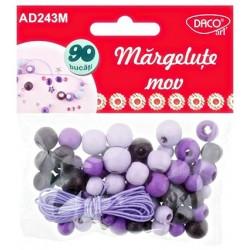 Accesorii craft - AD243 Margelute mov DACO