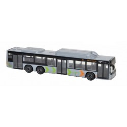 Autobuz metal MAN City Bus Majorette, gri