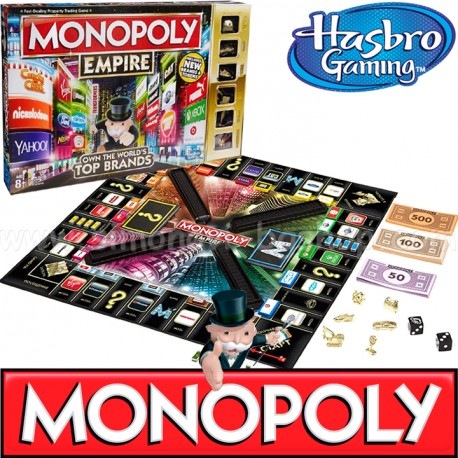 Joc de Societate Monopoly Empire Top Brands
