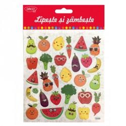 Abtibild - AB026 Lipeste si zambeste-fructe si legume DACO