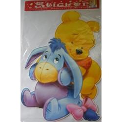 Sticker cu Winnie the Pooh si Aiurel