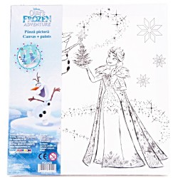 Panza pictura canvas Frozen