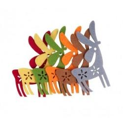 Forme decorative Reni Fetru, 6 bucati