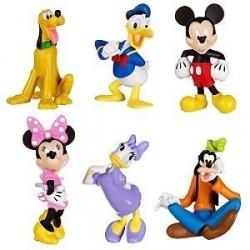 Set de joaca 6 figurine Mickey Mouse Club House