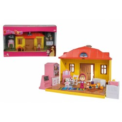 Casuta Mashei - Set de joaca Masha and the Bear Simba Toys