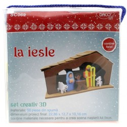 Set creativ La Iesle Daco SC069