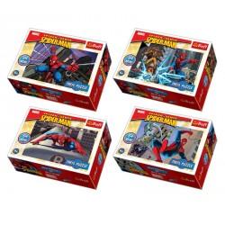 "Joc mini puzzle 54 piese ""Spiderman "" de la Trefl"
