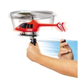 Elicopter cu elice şi cu lansator