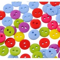 Nasturi plastic multicolori 9mm