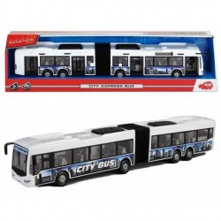 Jucarie Autobuz alb City Express  Dickie Toys
