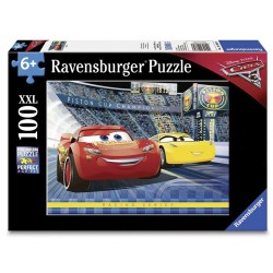 Puzzle Cars 3, 100 piese  -Ravensburger