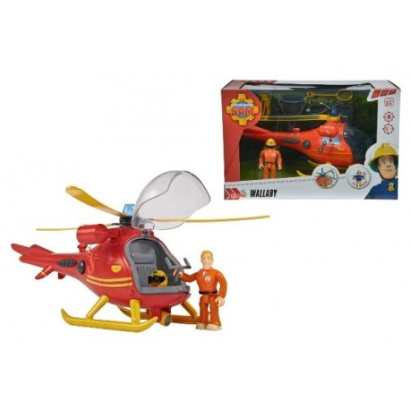 Elicopter Wallaby - Pompierul Sam Simba Toys