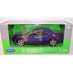 Macheta Dodge Challenger SRT 1:24 Welly