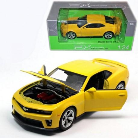 Jucarii Copii Macheta Chevrolet Camaro Zt1 1 24 Welly