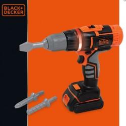 Surubelnita electrica cu sunete si lumini Black&Decker Smoby