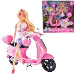 Set Papusa Steffi Love cu Scooter Simba Toys