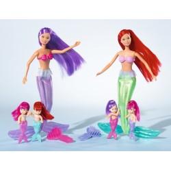 Set Steffi Love Papusa Sirena cu gemene