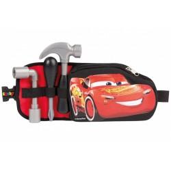 Centura cu unelte si buzunar cu fermoar Disney Cars Smoby