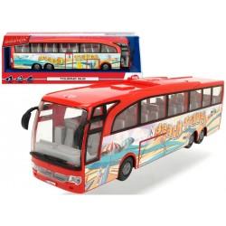 Autobuz Turistic rosu Dickie Toys 3745005