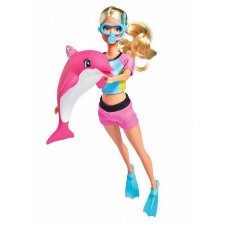 Steffi Love păpuşă cu delfin - Simba Toys