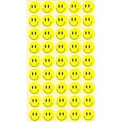 Set 10 folii cu Stickere Smiley