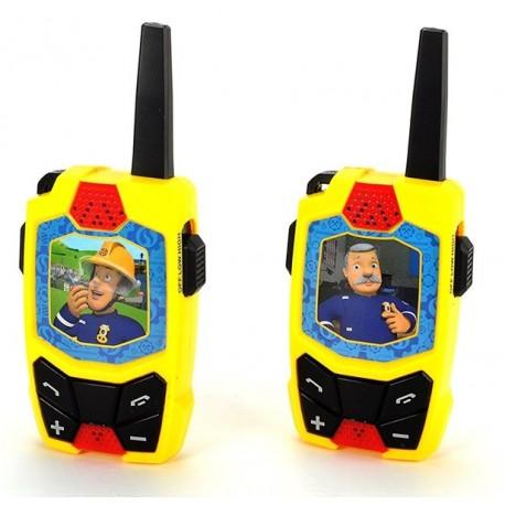 Walkie Talkie Pompierul Sam - Dickie Toys