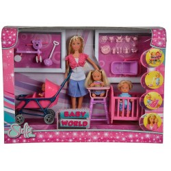 Mega Set Steffi Love Lumea Copiilor -  Simba Toys