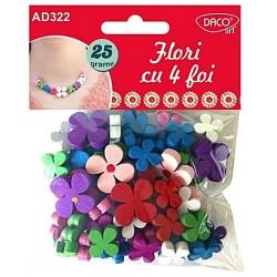 Accesorii craft - AD322 Flori cu 4 foi DACO