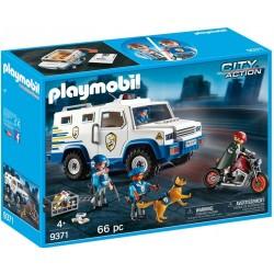 Masina De Politie Blindata Playmobil City Action PM9371