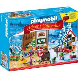 Calendar Playmobil Craciun - Atelierul Lui Mos Craciun PM9264